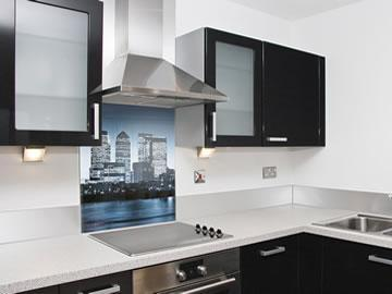 kitchen hob splash back